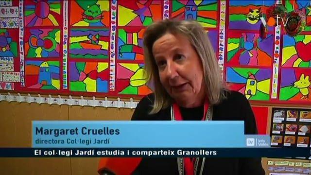 VOTV – El col.legi Jardí estudia i comparteix Granollers