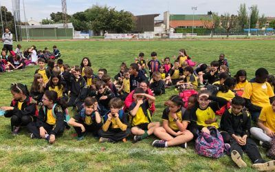 3r de Primària a les Jornades Esportives Montserrat Montero
