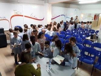 Segon de Primària rep la visita de l'escriptora Ana Alcolea