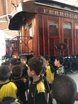 2n de Primària visita el Museu del Ferrocarril