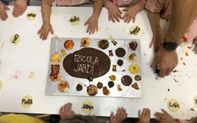 TALLER DE XOCOLATA A L'ESCOLA. EI 3 ANYS