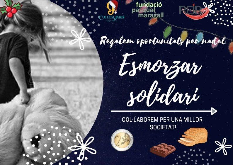 Ja tenim guanyadors del Cartell de difusió de l'Esmorzar solidari!