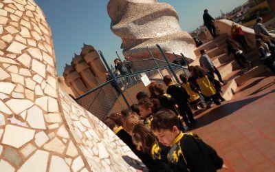 Educació Infantil 4 anys visita LA PEDRERA.