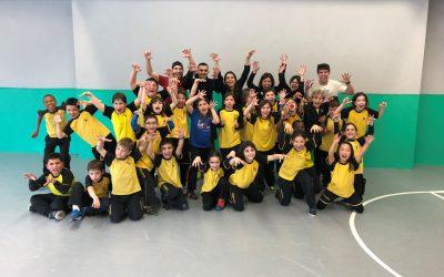 El projecte de la Nike Community Ambassadors amb els alumnes de 3r B de primària.