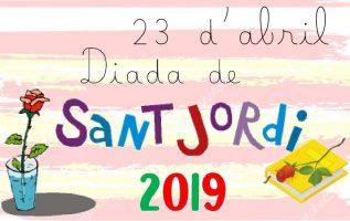 23 D'ABRIL. CELEBREM SANT JORDI A L'ESCOLA!