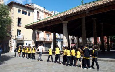 30 d'abril. DIA DE L'EDUCACIÓ FÍSICA AL CARRER. Iniciativa del Col.legi Jardí per portar a l'espai públic l'educació física.