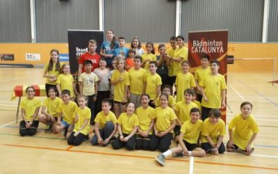 Campionat de Catalunya Escolar de Bàdminton.