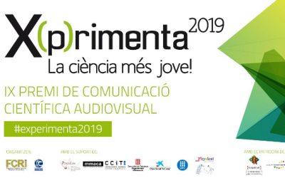 """MENCIÓ PER A ALUMNES D'ESO EN EL CONCURS DE COMUNICACIÓ CIENTÍFICA AUDIOVISUAL """"X(P)RIMENTA"""". UPC, Campus de Castelldefells."""