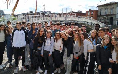 ESTADA A DUBLÍN, 4t d'ESO. Del 16 al 20 de juny.