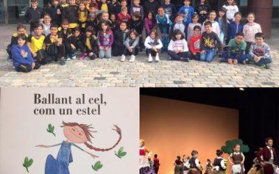 Dansa a 4t de primària: BALLANT AL CEL COM UN ESTEL. Teatre Auditori. Granollers
