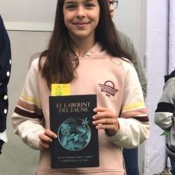 MARTINA DEL BARCO POUS: PREMI A LA MILLOR LECTORA!
