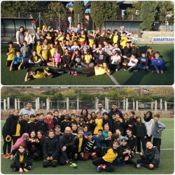 El projecte de la Nike Community Ambassadors amb els alumnes de cicle superior de primària.