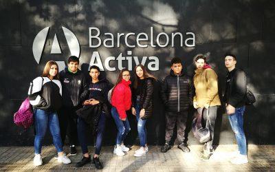 Taller dels alumnes PINACLE a BARCELONA ACTIVA.