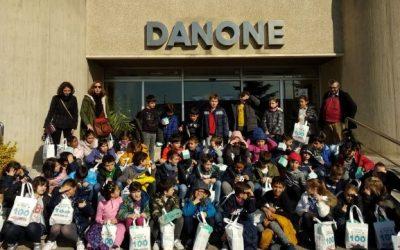 TERCER DE PRIMÀRIA VISITEM LA FÀBRICA DANONE. Parets del Vallès.