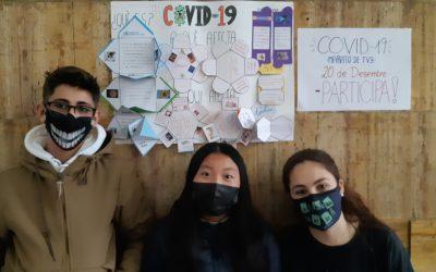 COVID 19. La Marató de TV3 2020. FES EL TEU DONATIU. PARTICIPA-HI! Campanya promuguda per 3r d'ESO.