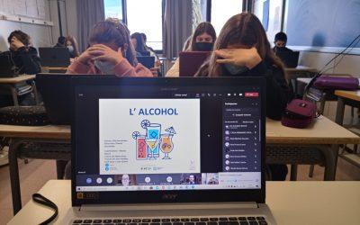 Xerrada sobre prevenció en el consum d'alcohol. 4t d'ESO.